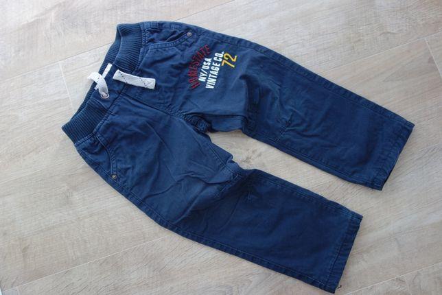 spodnie c&a r. 98 ocieplane