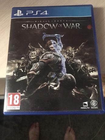 Продам или обменяю Shadow of War на PS4