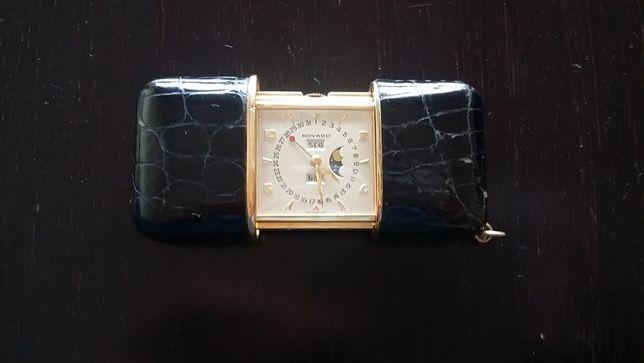 Relógio de Bolso de Coleção Vintage: MOVADO ERMETO TRIPLE DAY