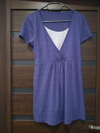 Tunika/bluzka ciążowa i do karmienia rozmiar L