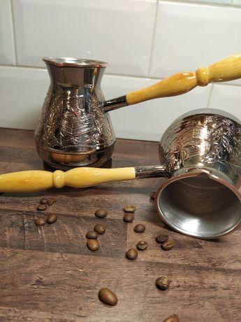 """Турка, турка мідна для кави 400мл """"Скарби"""", посуд, кава, подарунок"""