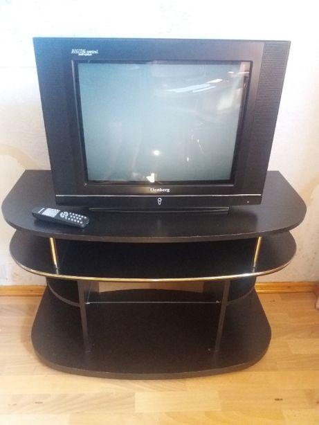 Продам телевизор с тумбой б/у в отличном состоянии недорого