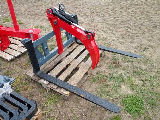 Do ciągnika chwytak drewna paleciak ramię hydrauliczne