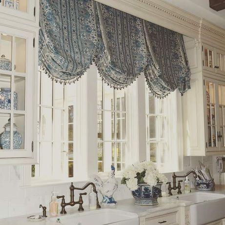 Пошив штор, римских штор, гардин