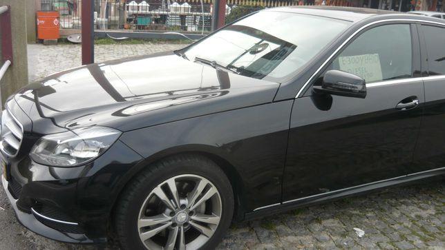 Mercedes E300 hybrid, 2013
