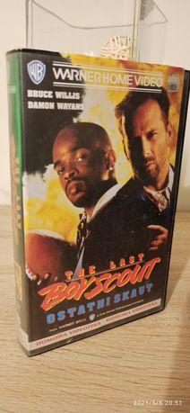 """Kaseta VHS wideo z filmem """" Ostatni skaut """""""