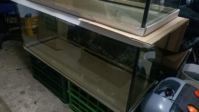 Akwarium 240 litrów nowe wklejone wzmocnienia 10 mm szkło