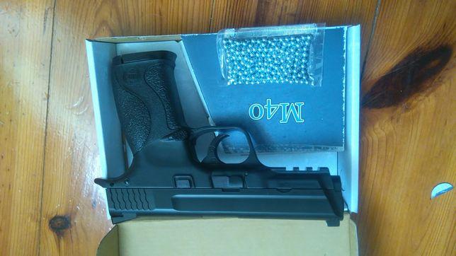 Pistola CO2 Airgun 4,5 mm (cal .177) NOVO