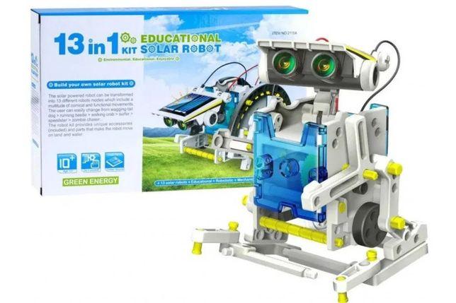 Конструктор робот на солнечной батарее solar robot 13 в 1