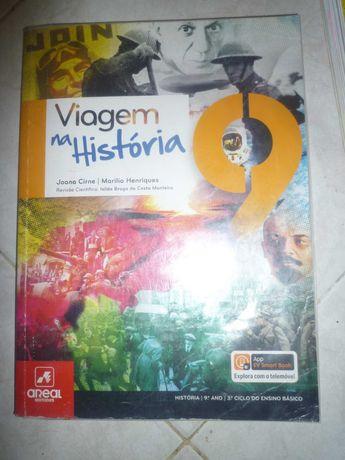 Manual Viagem Na História 9º da Porto Editora Novo