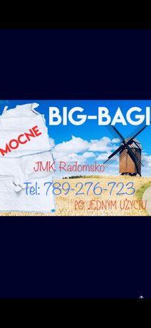 Worki Big Bag Bagi 350kg 500kg 750kg 1000kg 1200kg 1500kg BIGBAG
