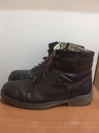 Зимние мужские кожаные ботинки Bistfor
