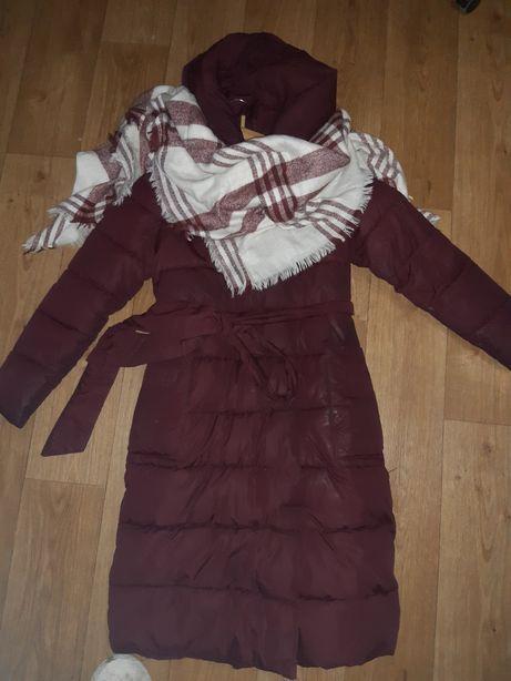 Зимняя куртка пальто 42-44 р.