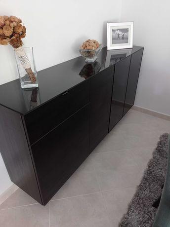 Aparador preto IKEA como novo