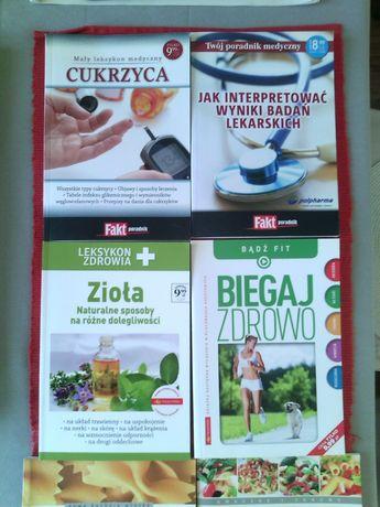 Zdrowie , dieta , inne - książeczki