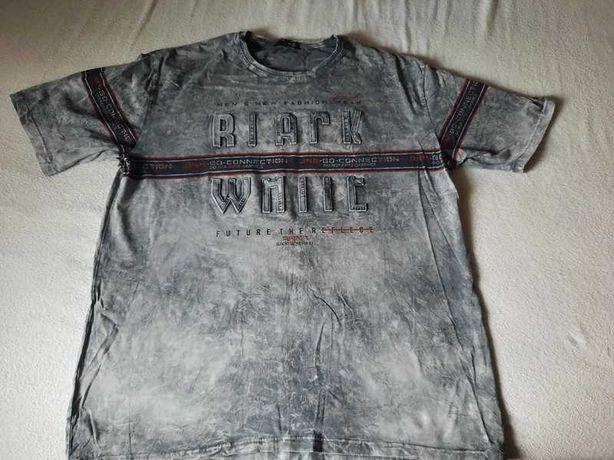 Koszulka szara dekatyxowana