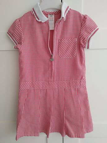 Sukienka w krateczkę F&F r. 104, 3-4 lata