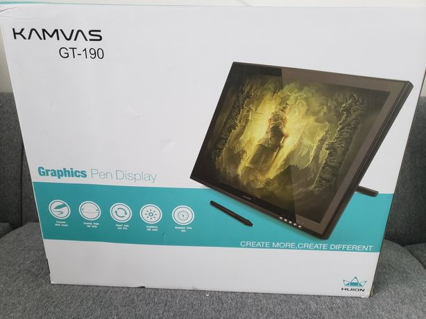 """Графический планшет, монитор для рисования Huion Kamvas GT-190 19"""""""