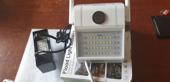 Kamera IP FHD Zewnętrzna + LAMPA LED