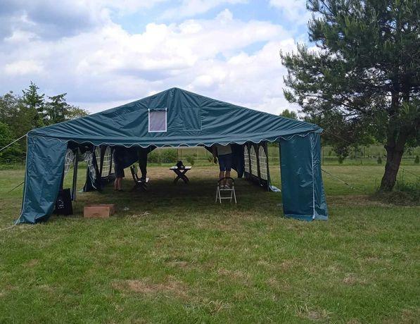 Namiot imprezowy 6x12m pvc plenerowy nowy
