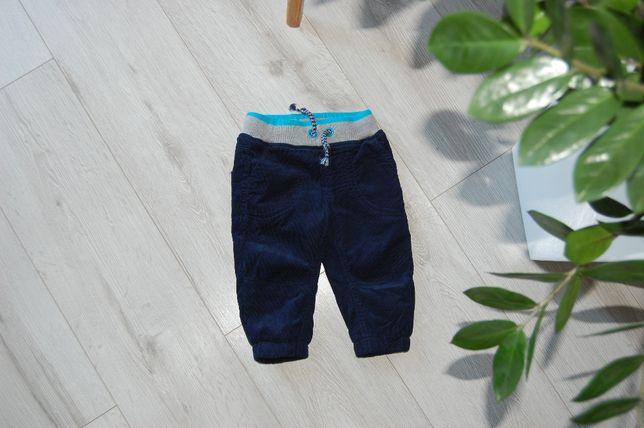 Spodnie SMYK bardzo ciepłe 74