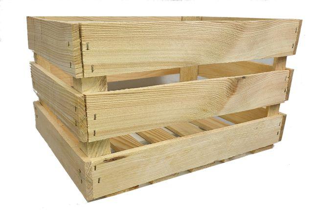 Skrzynka NOWA drewniana vintage super jakość