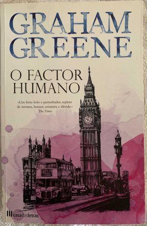 """Livro """"O Factor humano"""" de Graham Greene"""