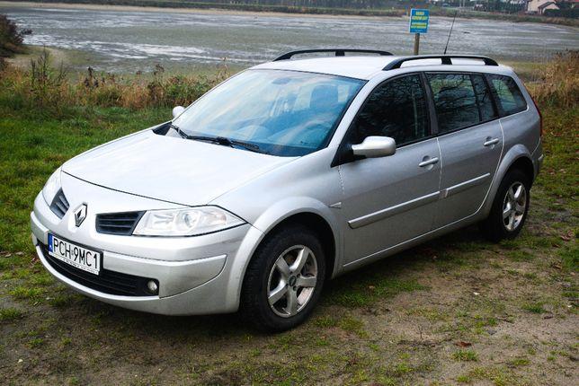 Renault MeganeII Kombi 1.6 I 16V 115KM GRUDZIEŃ 2007 R. CHODZIEŻ