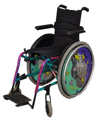 WÓZEK Inwalidzki PÓŁAKTYWNY Meyra ortopedyczny 143 dla dziecka