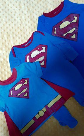 DC COMICS/Superman/Супермен/ футболка 9-12 мес