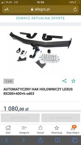 Hak lexus RX 300 400