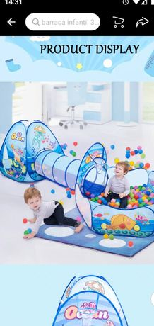 Tenda para crianças ou bebê portátil