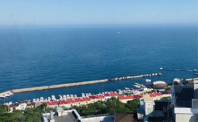 Продам вид на море с прекрасной 1- к.к., в 48 Жемчужине.Каманина