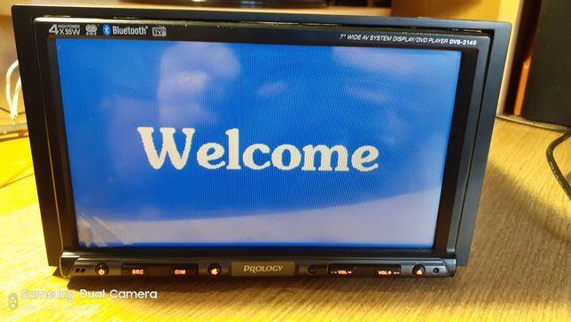 Автомагнитола Prology DVS-2140, 2-Din, usb, Tv-тюнер,SD MMC, Bluetooth