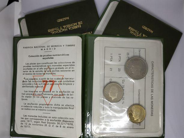 Набор монет Испания 1977 г.