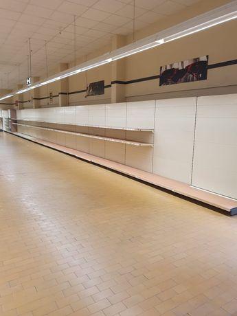 Regał sklepowy magazynowy metalowy Regaly sklepowe magazynowe paletowe