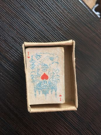 Мини карты , Міні карти , ігрові карти міні АНТИКВАР КОЛЕКЦІЙНІ КАРТИ