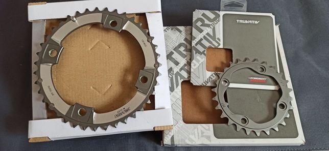 Pratos pedaleira xx 2x10 novos