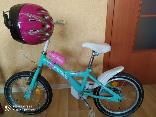 Rowerek dziecięcy plus kask