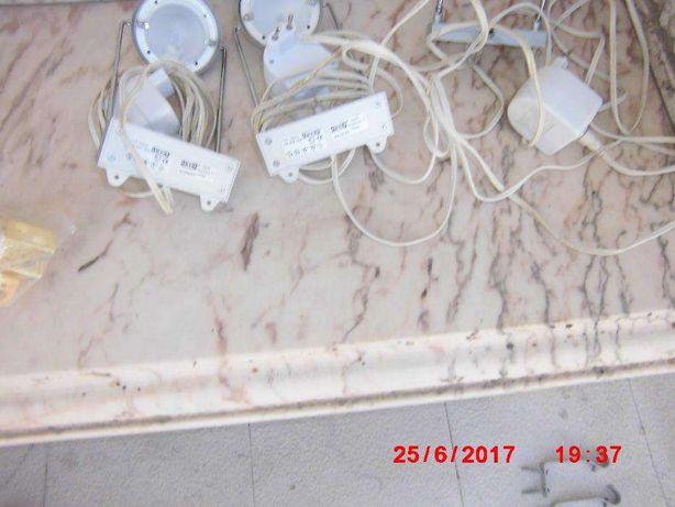 Candeeiro pequenos de secretária 12 volts