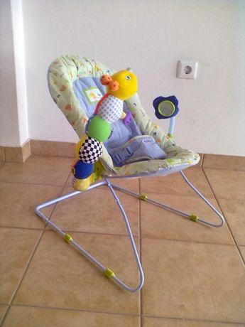 Espreguiçadeira de descanso para bebé.
