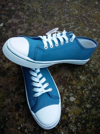 Ténis azuis, sapatilhas homem novos, 41/42!