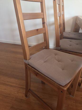 Krzesła do jadalni IKEA super stan z poduszką