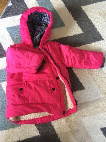 Зимняя куртка на 2-3 года