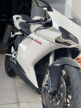 Ducati 848 Branco Pérola