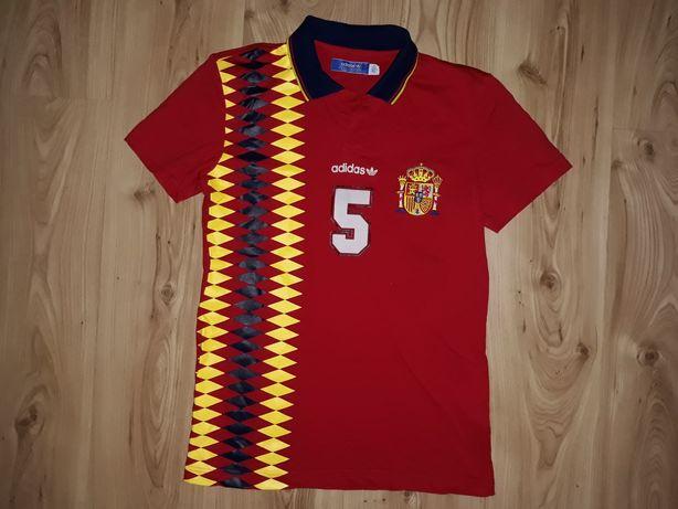 Koszulka Polo Adidas S Hiszpania Spain originals