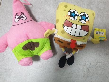atryk rozgwiazda + maskotka Spongebob zestaw