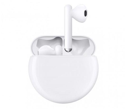 Słuchawki bezprzewodowe bluetooth HUAWEI FreeBuds 3 białe nowe