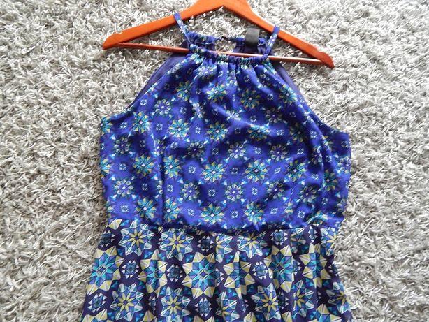śliczna długa sukienka 44