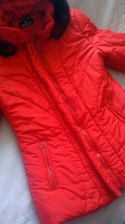 Куртка болоньевая женская. С капюшоном